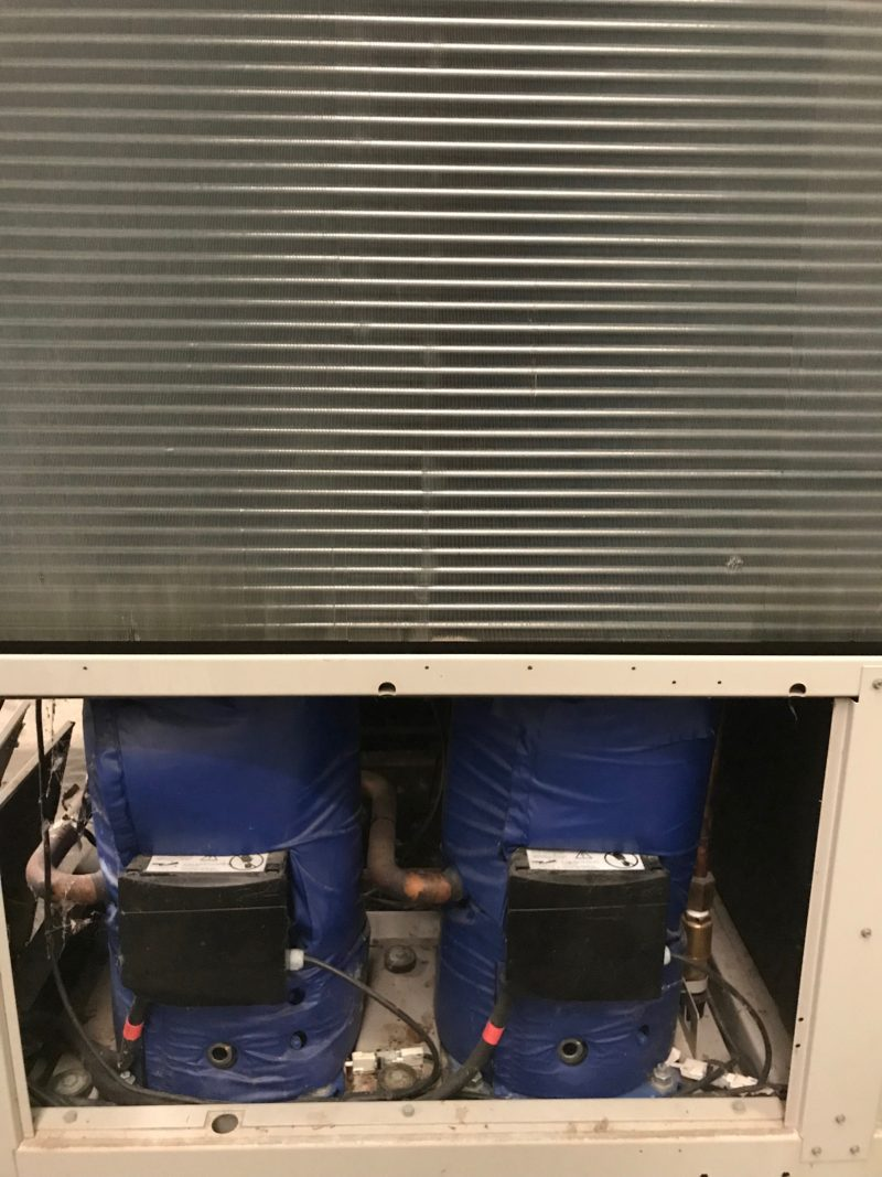 Used air cooled water chiller