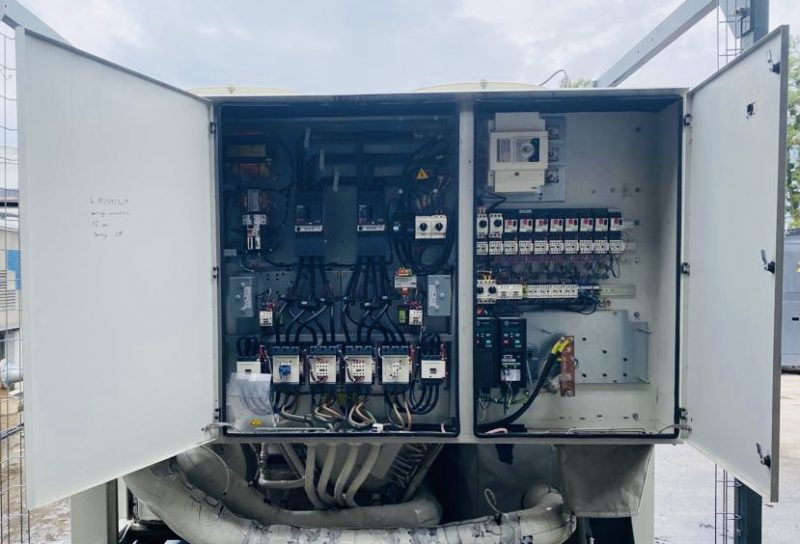 chiller with screw compressor